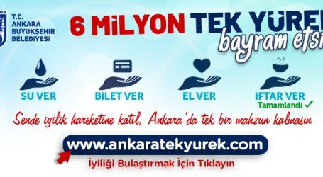 """YAVAŞ'TAN YENİ KAMPANYA: """"6 MİLYON TEK YÜREK BAYRAM ETSİN"""""""
