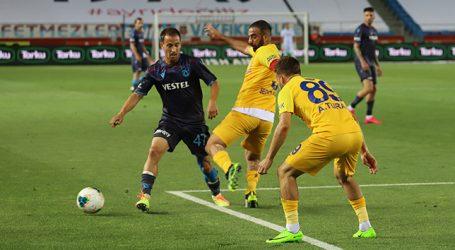 Trabzonspor , Ankaragücü'ne takıldı: 1-1