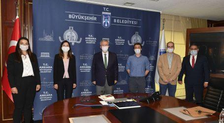 TMMOB Şehir Plancıları Başkan YAVAŞ ı ziyaret etti