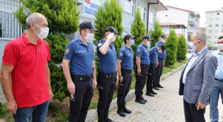Vali' den Güvenlik Güçlerine Bayram Ziyareti