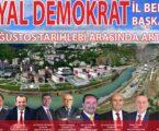 SOSYAL DEMOKRAT İL BELEDİYE BAŞKANLARI ARTVİN'DE