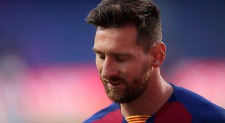 Messi, Barcelona'dan ayrılıyor