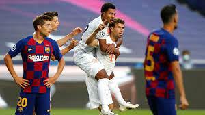 Bayren Münih Barcelona'yı parçaladı:8-2