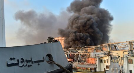 Beyrut havaya uçuyordu, 78 kişi öldü,4000 e yakın yaralı var