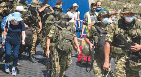 Meis Adasına Asker çıkardılar…