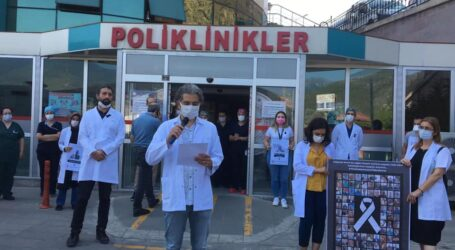 ARTVİN'DE HEKİMLER TTB'NE SAHİP ÇIKTI