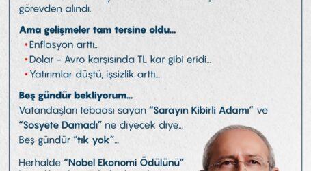 Nobel Ekonomi Ödülü'nü kaçırdılar diye kahroluyorlar!