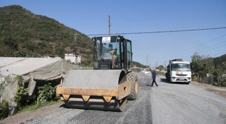 Kdz.Ereğli 'de 1 km çevre yolu yapıldı
