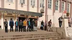Saraçoğlu'nda şimdi de Namık Kemal Ortaokulu boşaltılıyor