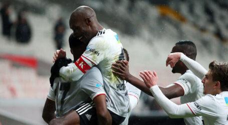 Beşiktaş Başakşehir'i 3-2 ile geçti