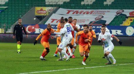 Galatasaray şen dönüyor:4-0