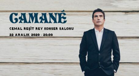 Camané, 22 Aralık'da İstanbullu hayranlarıyla buluşacak.