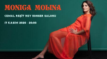 Molina, 17 Kasımda  İstanbullu hayranlarıyla buluşacak.