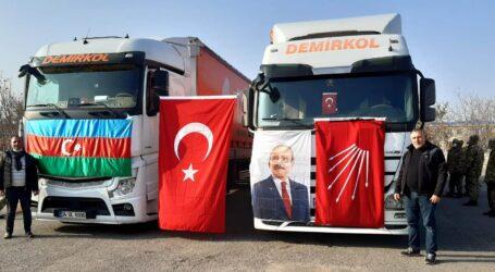 CHP AZERBAYCAN'A YARDIM TIR'I GÖNDERDİ