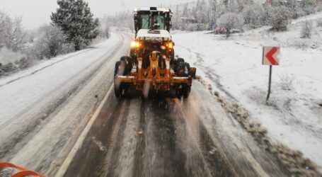Başkentte karla mücadele canlı yayınlanıyor
