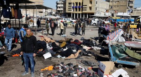 Bağdat'ı kana bulayan  intihar saldırısında 32 kişi öldü
