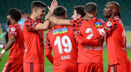 Beşiktaş penaltılarla  yarı finalde:3-2