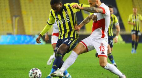 Fenerbahçe evinde  kayıp:1-1
