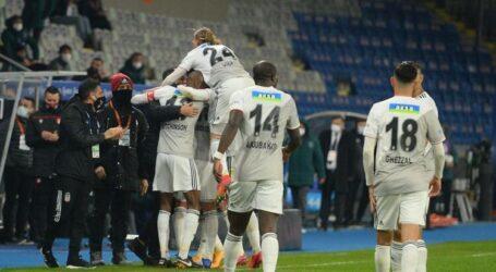 Lider Beşiktaş engel tanımıyor:3-2