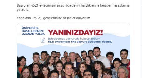 BAŞKENT'TE 6521 ÖĞRENCİNİN YKS ÖDEMESİ YAPILDI