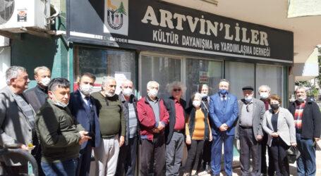 BAŞKAN ACAR'DAN MERSİN'DE ARTVİN'LİLER DERNEĞİNE ZİYARET