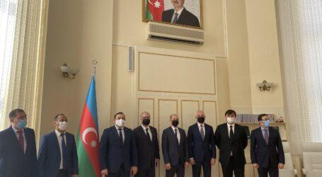 Uluslararası Nakliyatçılar Azerbaycan da çözüm aradı