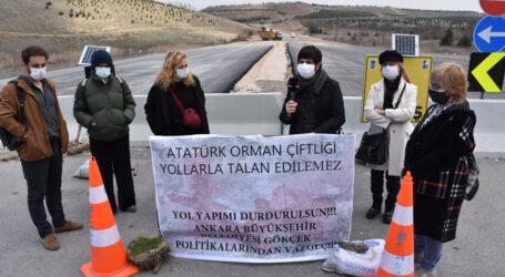 Atatürk Orman Çiftliği yollarla talan edilemez