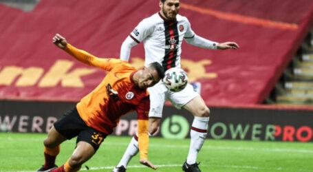 Galatasaray galibiyete hasret:1-1