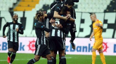 Lider Beşiktaş kendine geldi:3-1