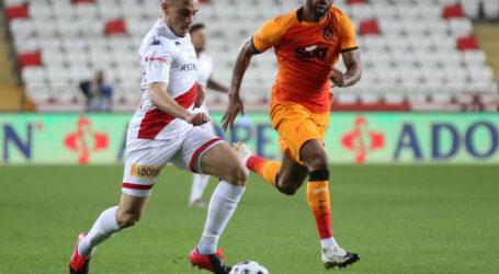 Galatasaray ,Antalya' yı tek golle geçti:1-0