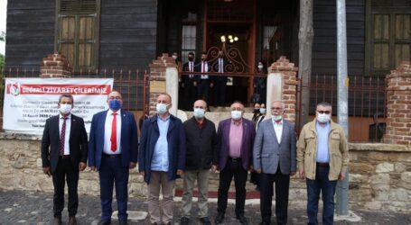 SOSYAL DEMOKRAT İL BELEDİYE BAŞKANLARI KIRKLARELİ'NDE TOPLANDI
