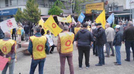 PANDEMİ GÖLGESİNDE 1 MAYIS'A  BURUK KUTLAMA