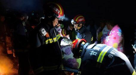 Çin'de  maraton koşan 21 kişi  donarak hayatını kaybetti.