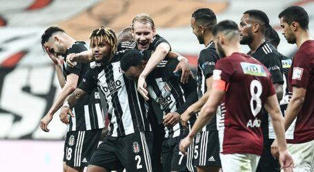 Beşiktaş gol olup yağdı:7-0