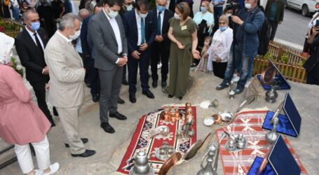 HAYAT BOYU ÖĞRENME HAFTASI KAPSAMINDA MURGUL'DA EL SANATLARI SERGİSİ AÇILDI