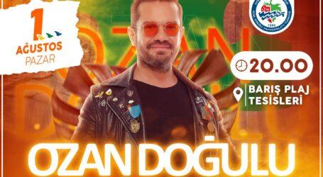 OZAN DOĞULU'DAN KDZ. EREĞLİ BARIŞ PLAJI'NDA DJ  PERFORMANSI