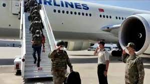 Afganistan' daki Askerlerimiz dönmeye başladı